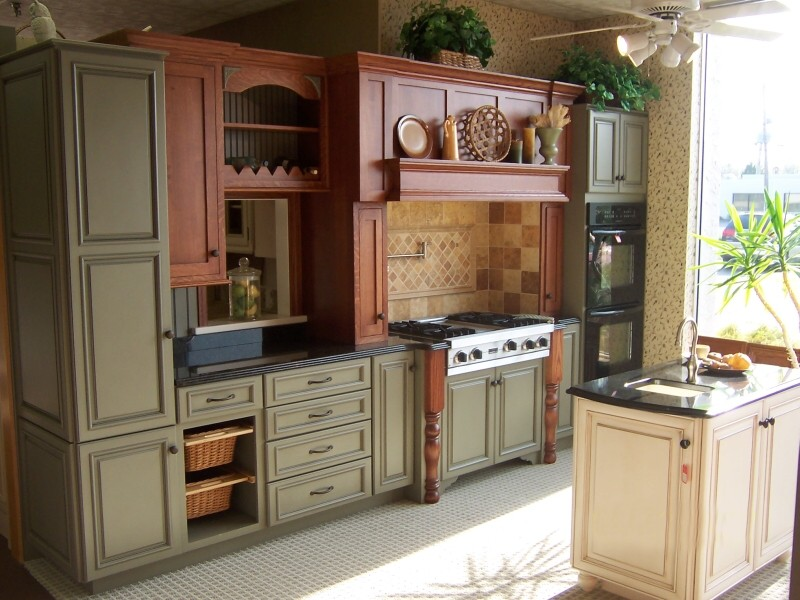 quaker kitchen design.  kitchen displays